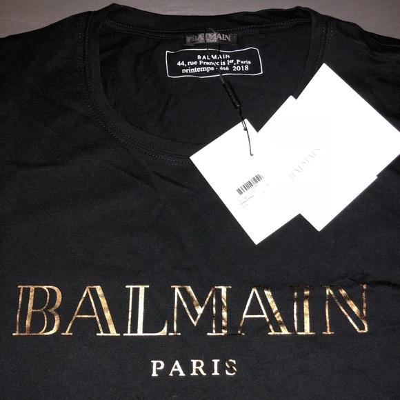 81325f9c3 Balmain Shirts | Mens Tshirt | Poshmark